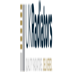 Diva - Latte Towel Radiators - H800mm x W400mm