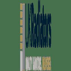 Zena - Black Heated Towel Rail - H800mm x W400mm - Straight
