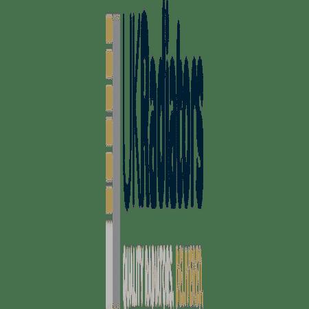 Omega - White Vertical Radiator - H1600mm x W464mm - Single Panel