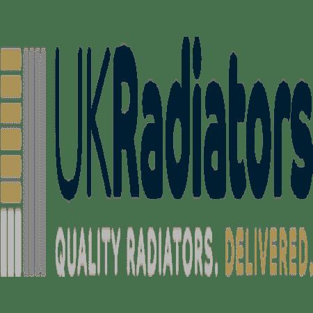 Omega - Anthracite Horizontal Radiator - H600mm x W812mm - Single Panel