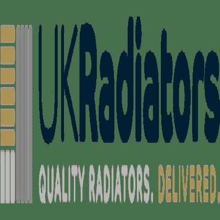Omega - Black Horizontal Radiator - H600mm x W812mm - Single Panel