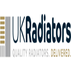 Round - Black Radiator Valves - Angled