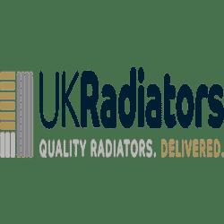 Square - Anthracite Radiator Valves - Straight