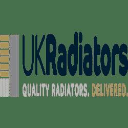 Square - White Radiator Valves - Angled